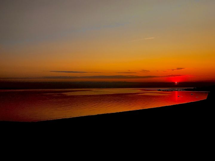 Red sun - HenrikG Photography