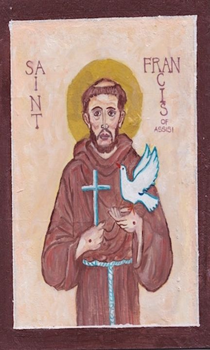 ST. FRANCIS OF ASSISI - Art for God