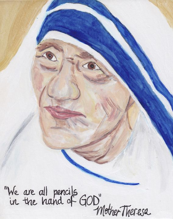 ST. MOTHER TERESA - Art for God