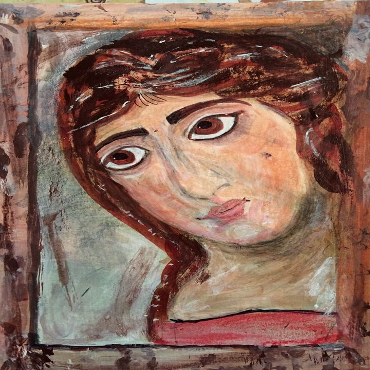 MARY AS CHILD - Art for God