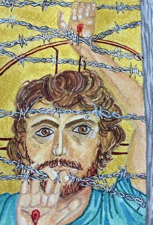CHRIST IN THE MARGINS - Art for God
