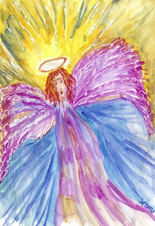 GAIL'S ANGEL - Art for God