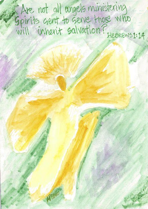 MINISTERING SPIRITS - Art for God