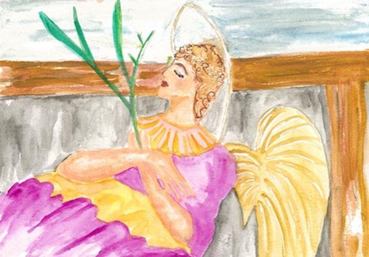 SLEEPING ANGEL - Art for God