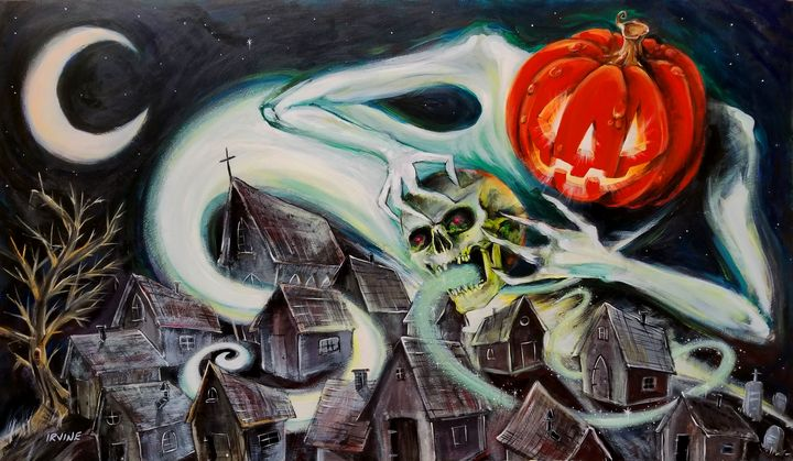 Spreading the Spirit of Halloween - The Gnarled Branch