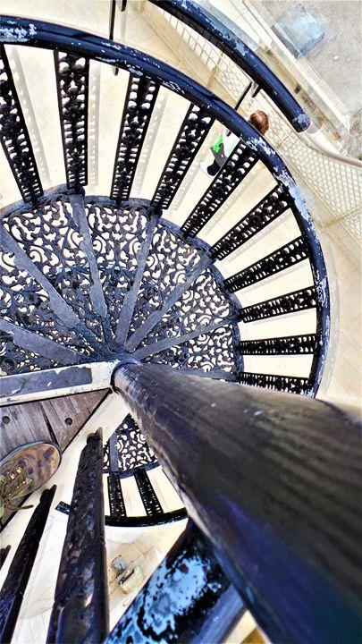 Churva Stairs - Jonathan M. Schwartzman