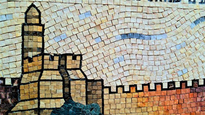 Migdal Daviid Mosaic - Jonathan M. Schwartzman