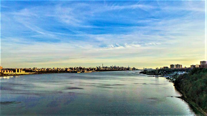 NYC @ Sunset - Jonathan M. Schwartzman