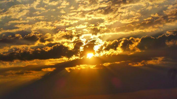 Sunset Over Tzfat - Jonathan M. Schwartzman