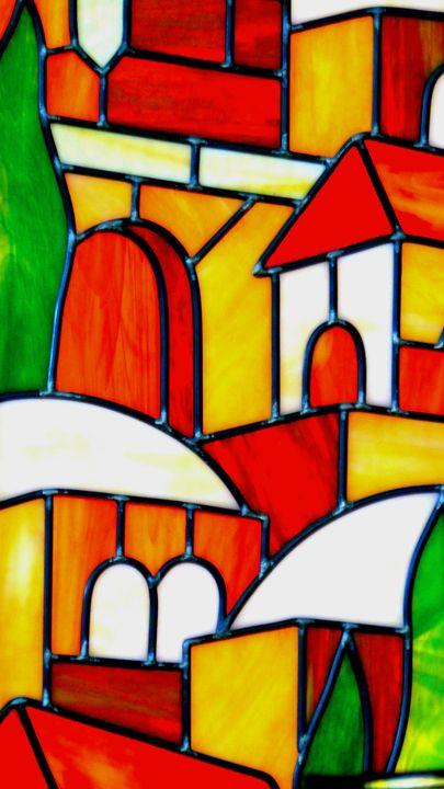 Rova In Glass - Jonathan M. Schwartzman