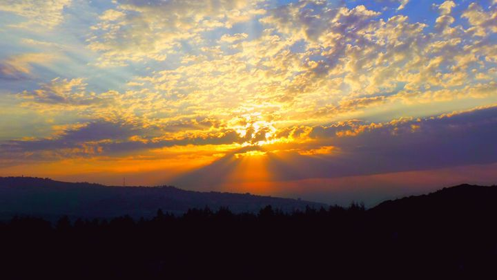 Sunset In The Galilee - Jonathan M. Schwartzman