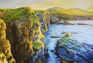 Ceide Cliffs, Ballycastle, Co. Mayo