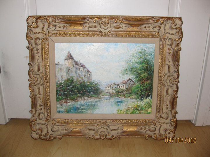 """""""Viveux Grenoble"""" Oil by Taco Rouch - Canary"""