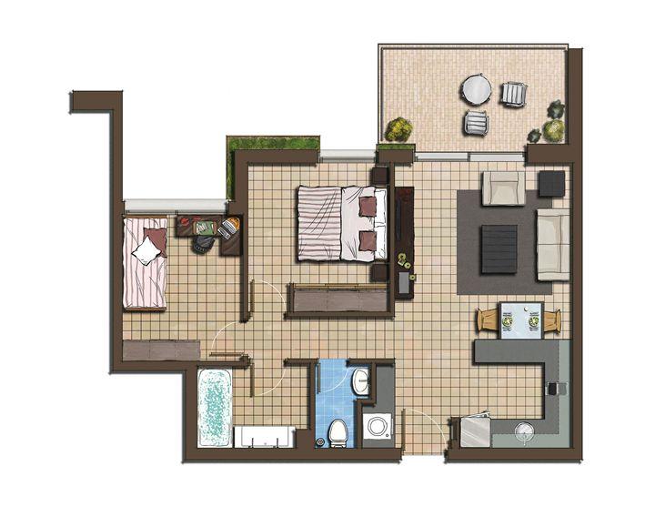 Duplex House Design - rehan khan