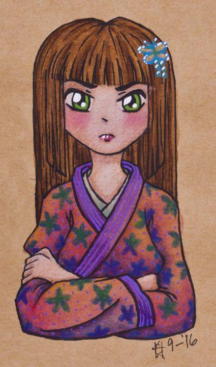 Kimono Girl - Mr. and Mrs. Carter