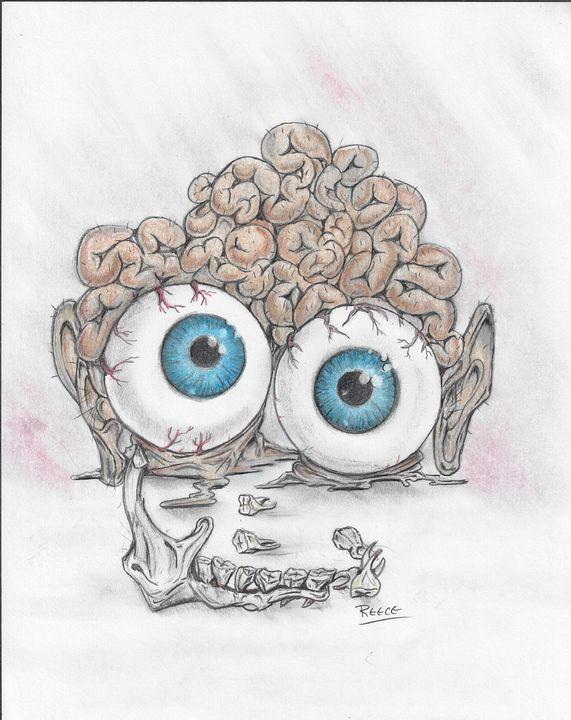 Brain Damage - moonpye