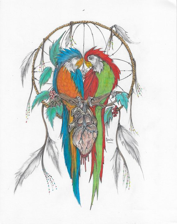 Lovebirds - moonpye