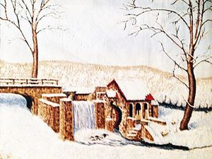 Winter at the Old Mill