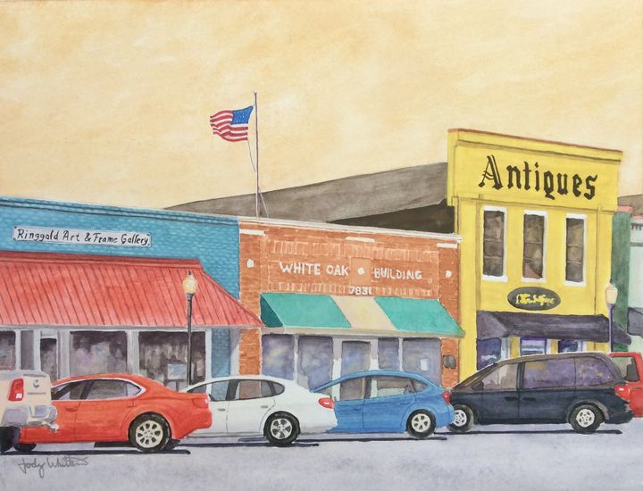 Ringgold Georgia storefronts - Jody Whittemore