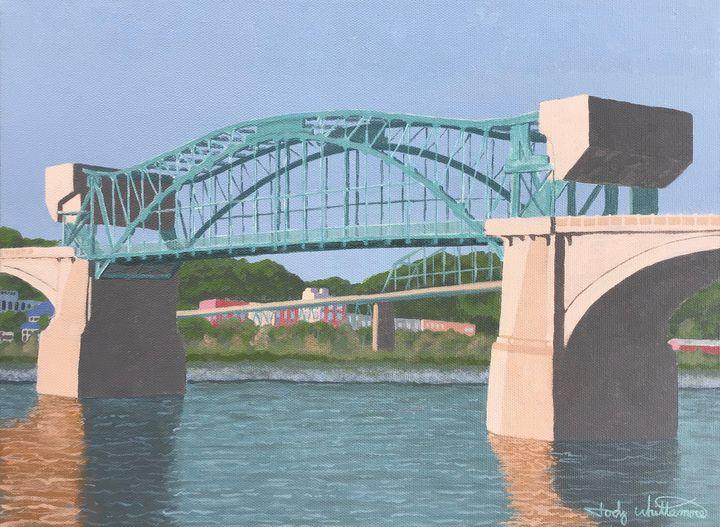 Chattanooga Market Street Bridge - Jody Whittemore