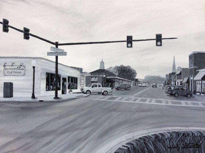 Ringgold Georgia Nashville Street - Jody Whittemore