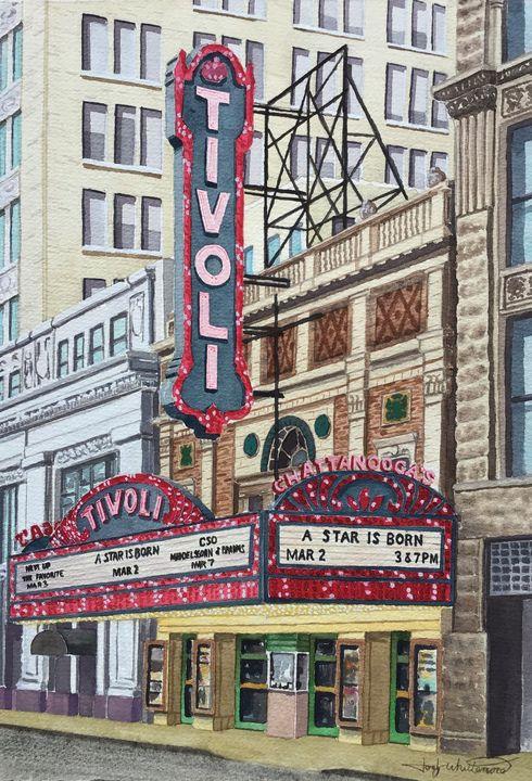 Tivoli Theater, Chattanooga, TN - Jody Whittemore