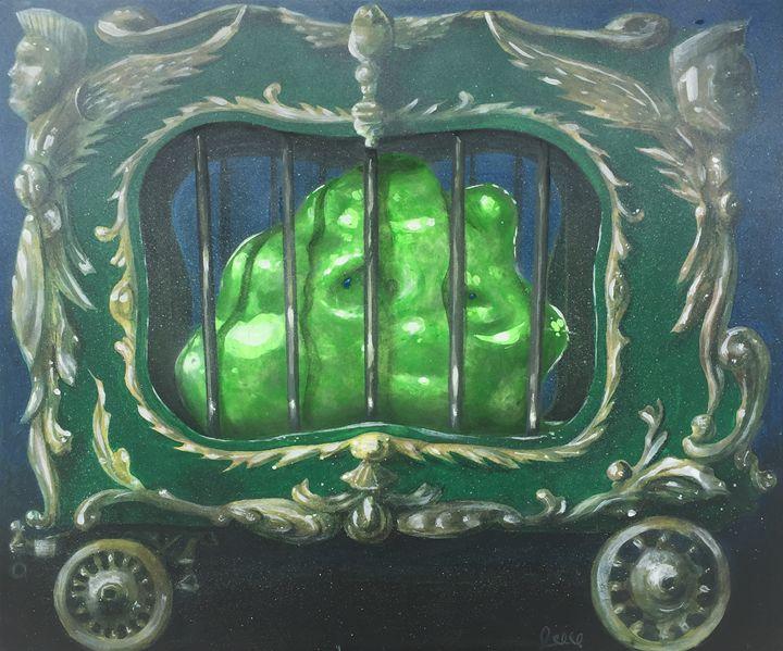 Blob in a cage. - Lynn's Workshop