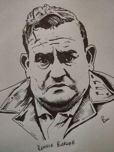 Ronne Barker Sharpie Pen Portrait