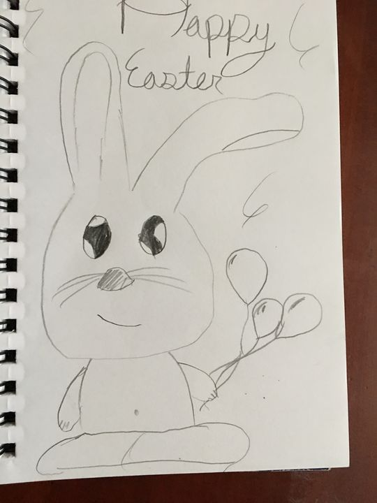 Hppy Easter - Marcus's art place