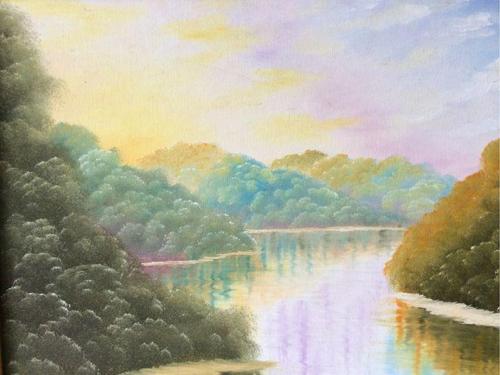 Jan Bell Untitled Landscape (1993) - Basch Art Consulting
