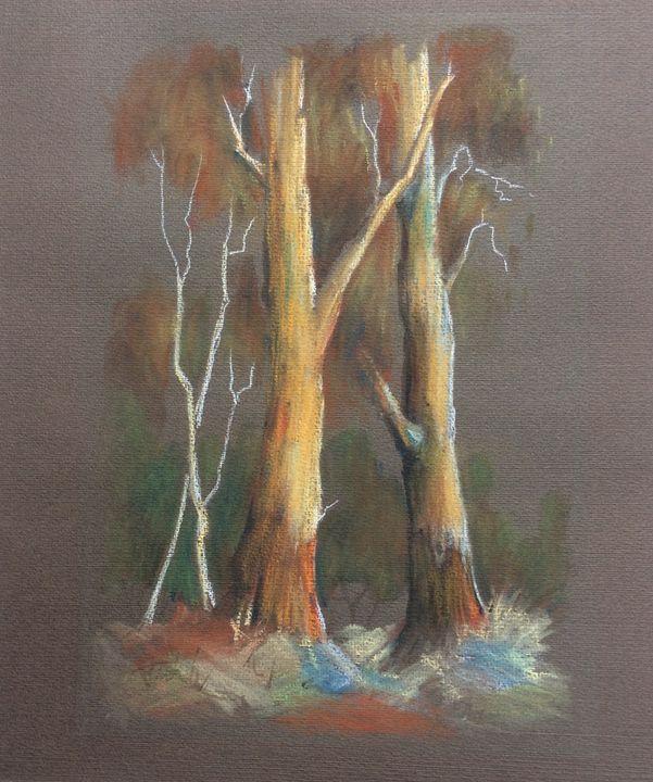 Original Brian McGuffie Watercolour - Basch Art Consulting