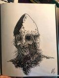 Original pen and ink