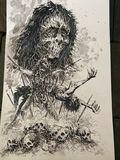 Ink illustration