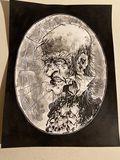 Original ink illustration