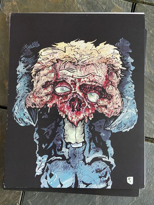 Print #4 8x10 - Dahmer Art