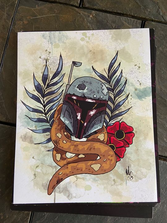 Print #9 8x10 - Dahmer Art