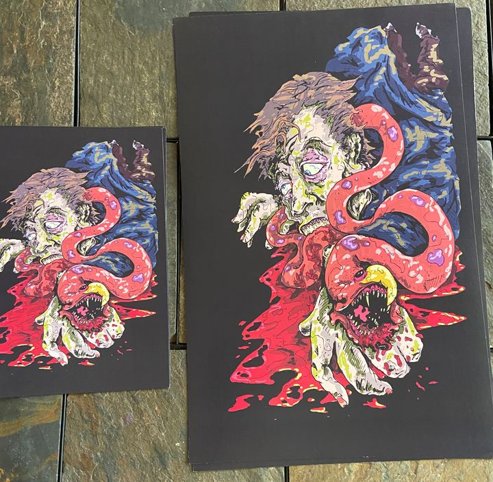 Print #12 11x17 - Dahmer Art