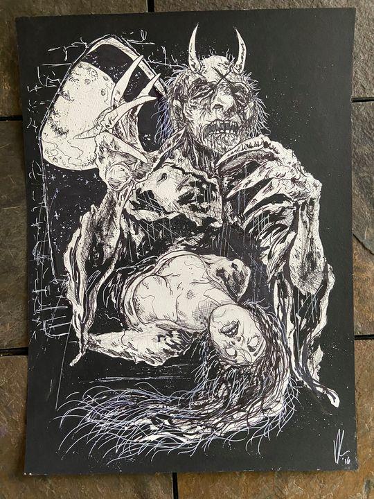 Scour design - Dahmer Art