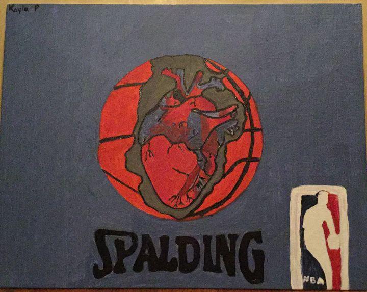 """""""Ball is life"""" - Kayla Phillips"""