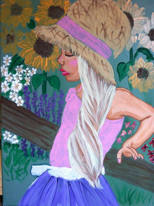 Summer Garden - Katharyne