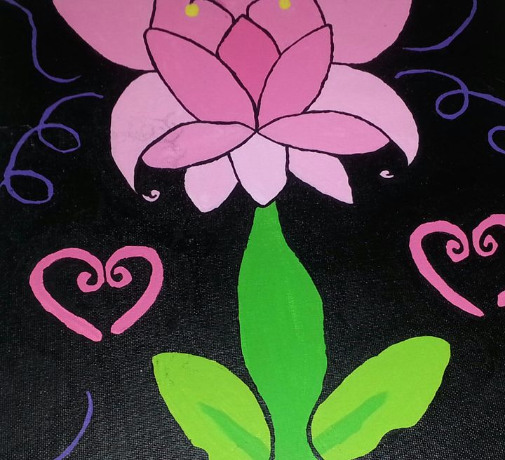 Flower of Love - Art by Audriana