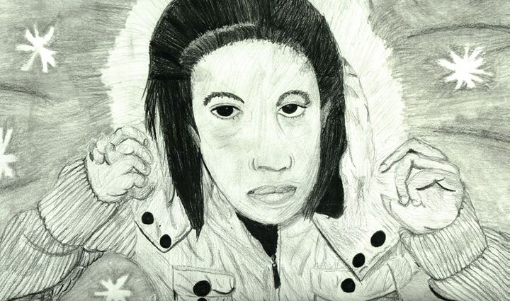 Snow Girl - Art by Audriana