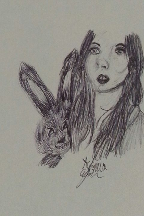 Bunny Katy P - Art by Audriana