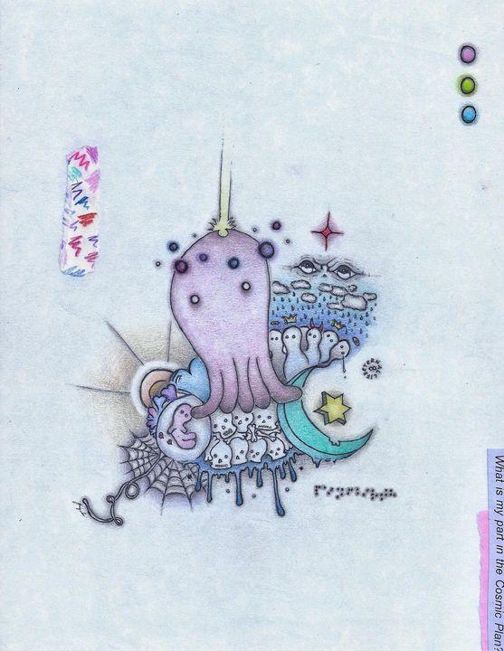 """COSMIC CYCLE OF BIRTH & DEATH"" - dreamsoulja"