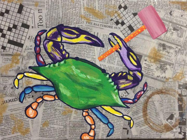 Maryland Crab - Art Attack