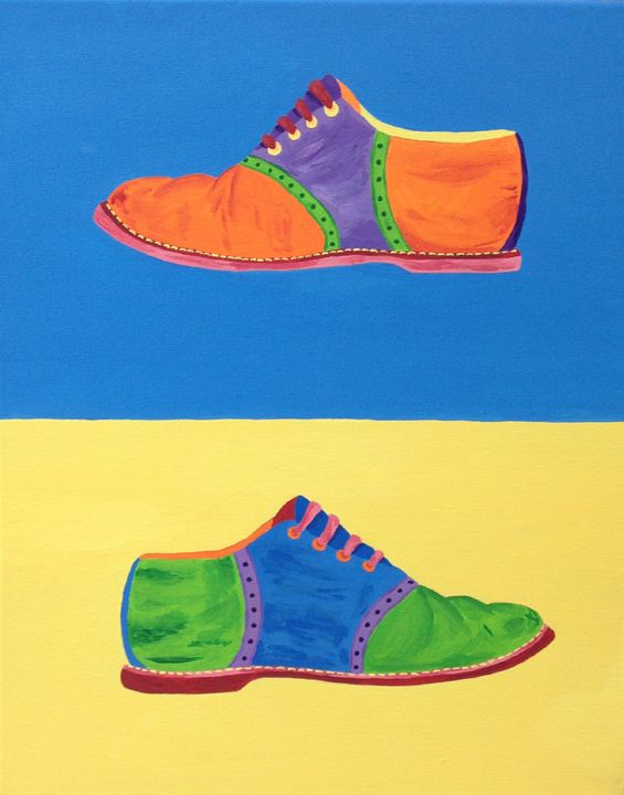 Saddle Shoes - Art Attack