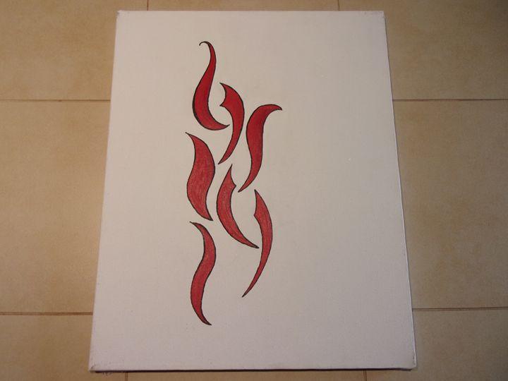 Fire - Sandie's Art