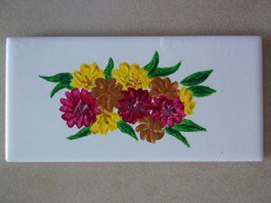 Yellow/Purple/Tan Flowers