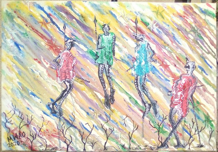 Maasai jumping worriors - Jevin mwao