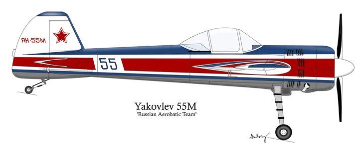 Yakovlev Yak-55M - SketchyAircraft